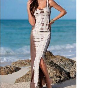 VENUS Tie Dye Maxi Dress